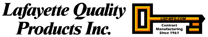 Logo, Lafayette Quality Products Inc. - Precision Manufacturing